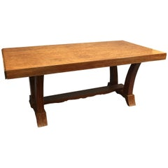 20th Art Deco Dinning Table in Mahogany