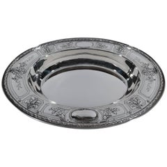 Antique Gorham Fancy Sterling Silver Serving Bowl