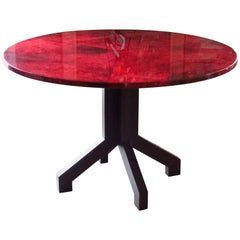 Aldo Tura Dining Centre Table, Italy, Midcentury