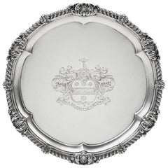 The Great Barr Salver, an Exceptionally Fine George III Salver Paul Storr