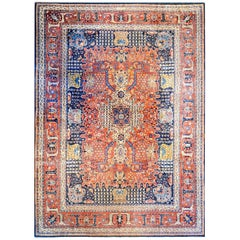 Unbelievable Early 20th Century Dabir Kashan Rug
