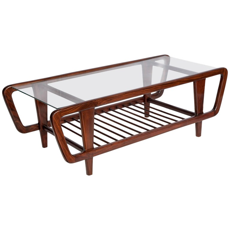 Giuseppe scapinelli brazilian mid century modern coffee table in jacaranda wood for sale at 1stdibs - Brazilian mid century modern furniture ...