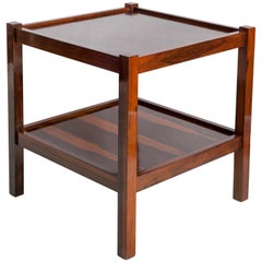 Brazilian Mid-Century Modern Side Table in Jacaranda