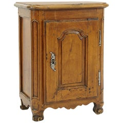 Charming Diminutive Carved Walnut Cabinet