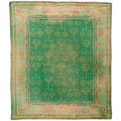 Vintage Irish Donegal Rug