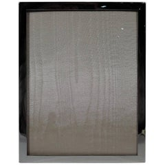 American Modern Sterling Silver Picture Frame