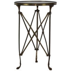French Bronze Campaign Table