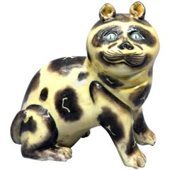 Chinese Export Porcelain Model of a Cat, 19th Century
