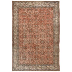 Fine Vintage Anatolian Rug in Soft Pink