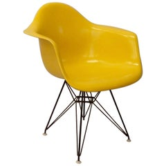 Bright Yellow Herman Miller Eames Shell Chair