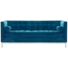 Lampert Sofa in Peacock Velvet