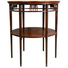 American Aesthetic Mahogany Table