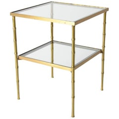 Maison Jansen Two-Tier Side Table