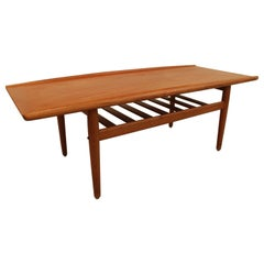 Grete Jalke Teak Coffee Table