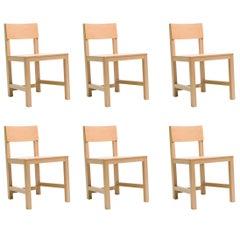 Set of Six AVL Shaker Chairs by Joep van Lieshout