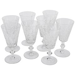 Set of Eight Wine Glasses