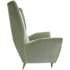 Gio Ponti 1950, Cozy Velvet Armchair