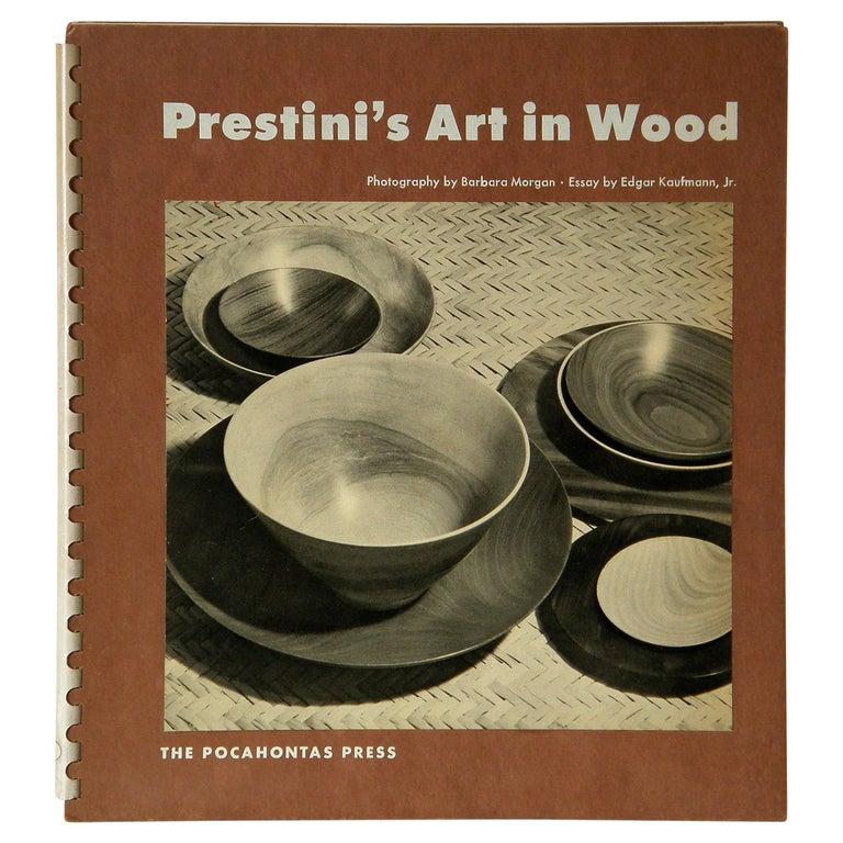 """Prestini's Art in Wood"" Book by Edgar Kaufmann Jr For Sale"