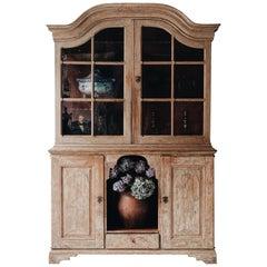 18th Century Rococo Vitrine Cabinet