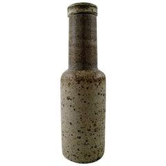 Kähler, Denmark, Glazed Stoneware Vase, Nils Kähler, 1960s
