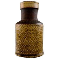 Kähler, Denmark, Glazed Stoneware Vase Nils Kähler, 1960s