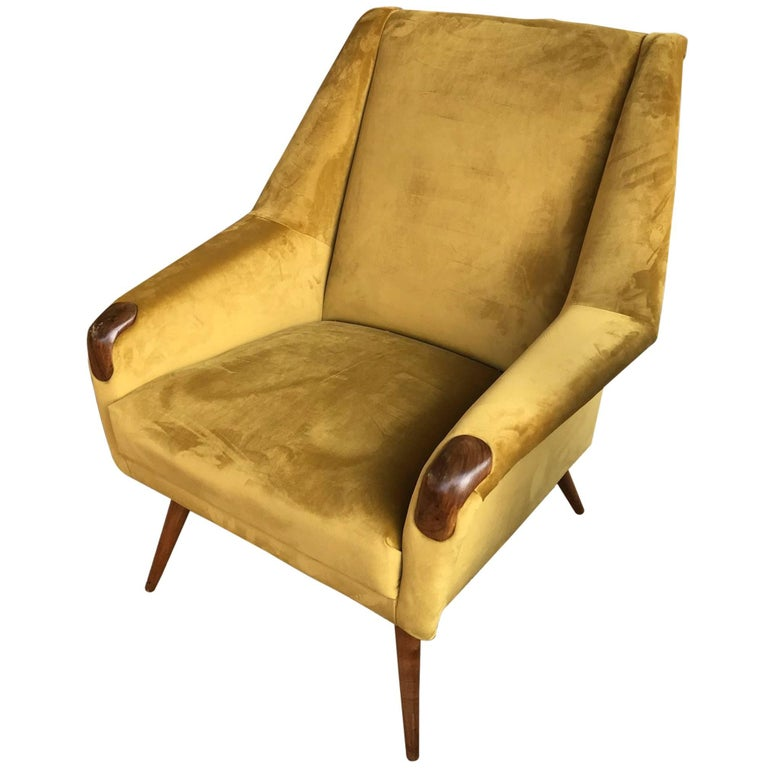 Altamira Armchair, Portugal, 1960s For Sale