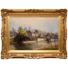 """Aylesford Kent"" by Henry Hadfield Cubley"