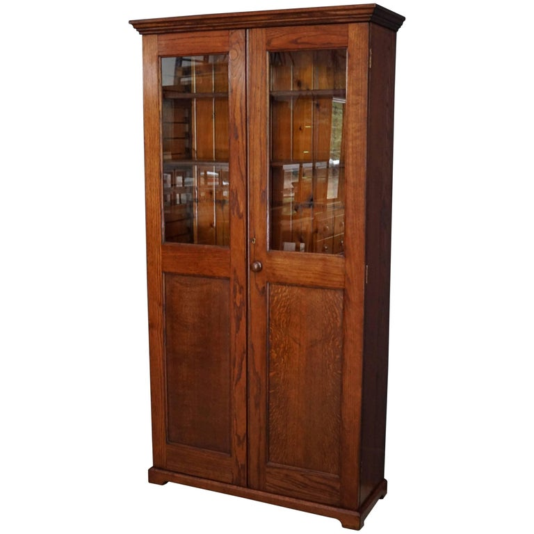French Oak Kitchen Cabinet, 1900s For Sale