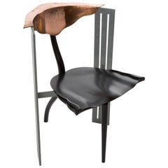 OTA OTANEK, Vitra edition 1988, designer Borek Sipek mix of wood, copper, steel