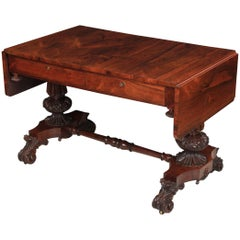 Magnificent Rosewood Sofa Table