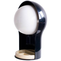 Vico Magistretti Telegono Desk Lamp with Pencil Box