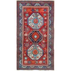 Antique Lori Pemback Design Kazak Caucasian Rug
