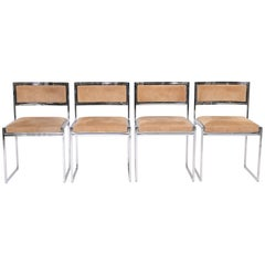 Set of four Willy Rizzo Chairs