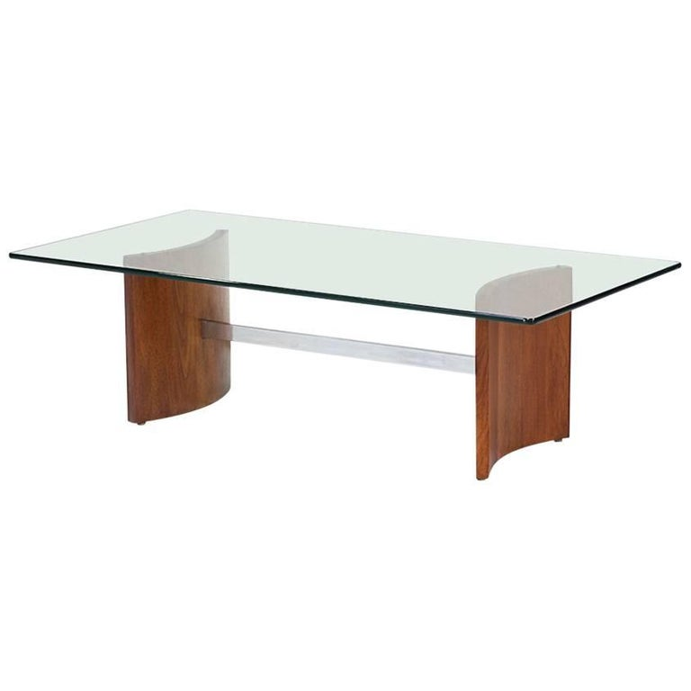 Vladimir Kagan Propeller Coffee Table For Selig For Sale