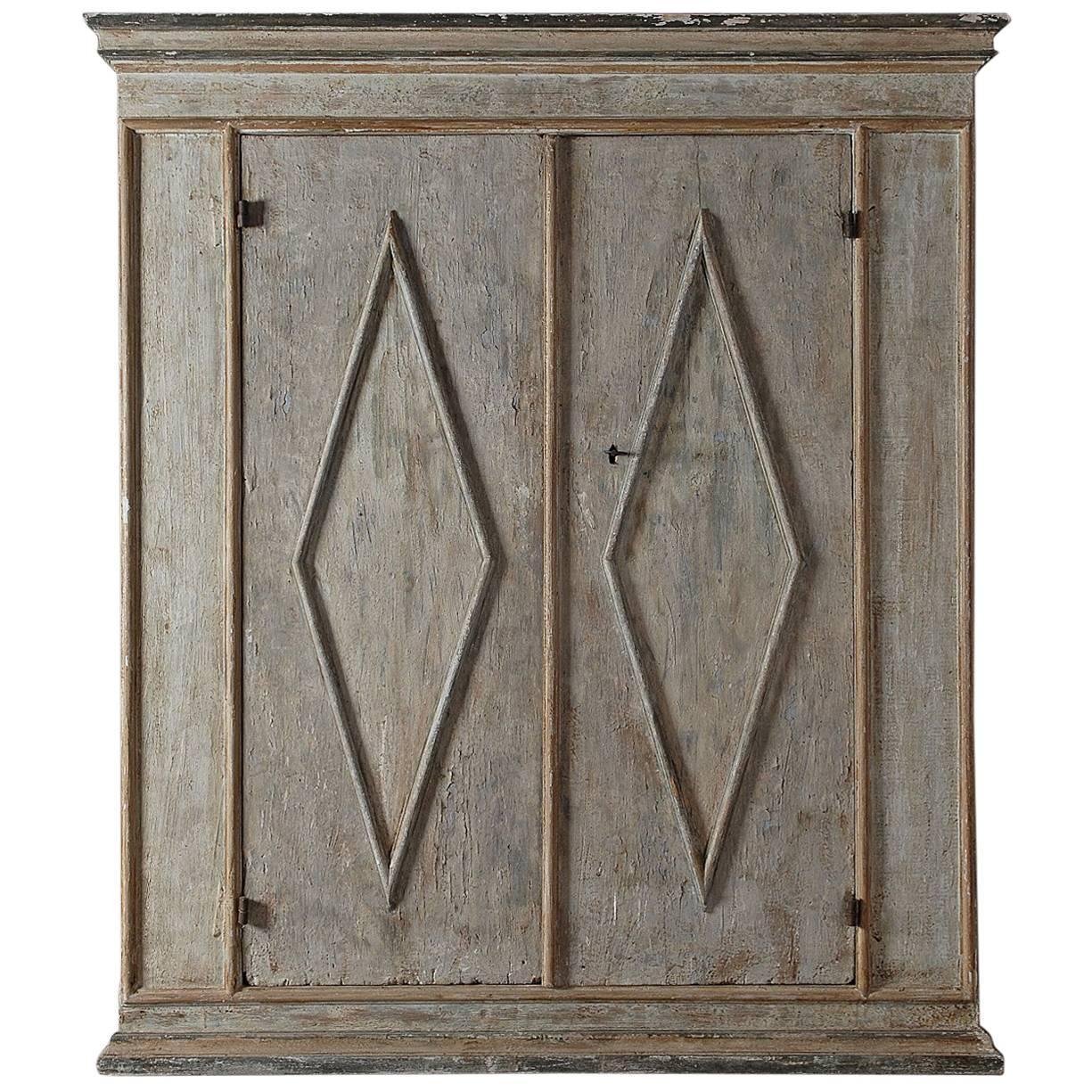 18th Century Tuscan Cabinet in Original Paint
