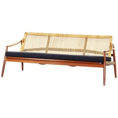 Beautiful Sofa Made of Teak by Hartmut Lohmeyer for Wilkhahn, 1950s, Germany