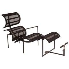 Carlo Forcolini 'Signora Chan' Chair and Ottoman