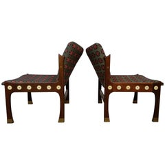 Pair of Kofod-Larsen Megiddo Slipper Chairs in Wenge