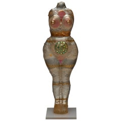 Noche Crist Female Nude Resin Sculpture