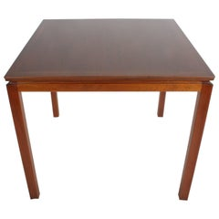 Edward Wormley for Dunbar Mahogany Game Table, Restored