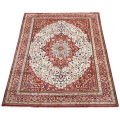 Fine Persian Tabriz Style Rug Circa 1970 For Sale At 1stdibs