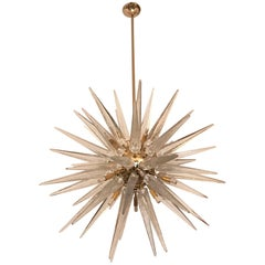 Sputnik Chandelier with Handblown Murano Glass