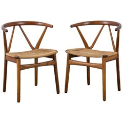 Henning Kjærnulf for Bruno Hansen Model 255 Teak Chairs, 1960s