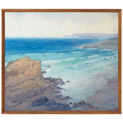 Spanish Seascape Oil Painting