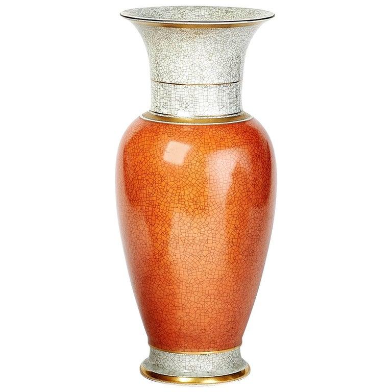 Royal Copenhagen Tall Porcelain Vase, 1950s