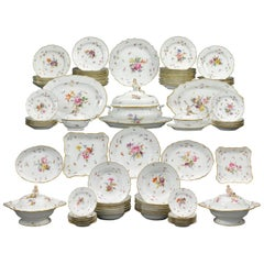 Meissen Porcelain Dinner Service, 92 Pieces