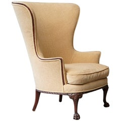 Napoleon III Style Bergère À Oreilles or Wingback Chair