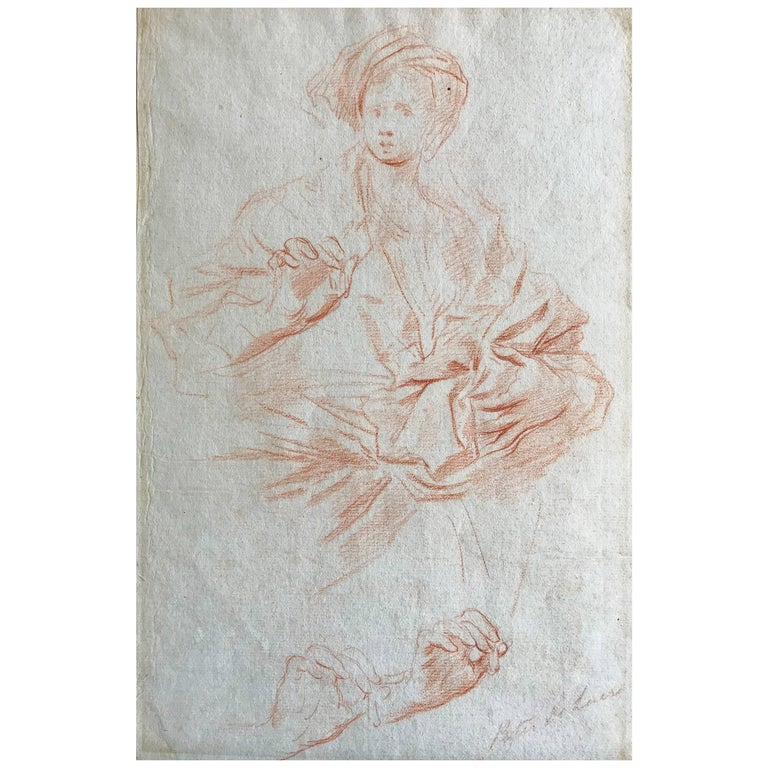 Pietro Dandini Study for Cleopatra