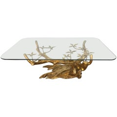 Bonsai Brass Coffee Table