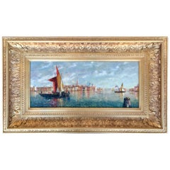 """Venice"" by William Birdsall Gifford"